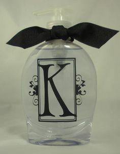 Monogrammed Soap Dispenser - K-