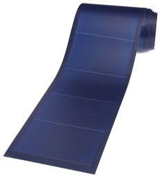 Unisolar 128 Watt Flexible Solar Panel PV Laminate - 24 volt with quick connect cables. 216 inch x inches - Peel & Stick Rv Solar Panels, Solar Panel Kits, Solar Roof, Solar Installation, Solar Power System, Power Energy, Diy Solar, Solar Water, Flexibility
