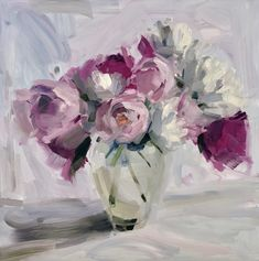 Amy Brnger 2020 Flower Calendar--jewelcase desk calendar plus holder Peony Painting, Painting & Drawing, Watercolor Paintings, Flower Paintings, Sunflowers And Roses, Big Flowers, Gifts For Art Lovers, Lovers Art, Abstract Flowers