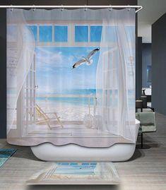 """72x72 /""""Anime Robot Man salle de bains Tissu polyester imperméable rideau de douche 12 Crochet"""