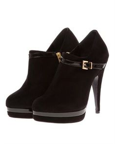 Synonyme by Georges Rech Leather Ankle Boots Made In France