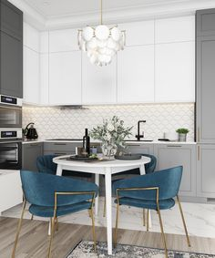 VK is the largest European social network with more than 100 million active users. Kitchen Room Design, Home Room Design, Kitchen Cabinet Design, Modern Kitchen Design, Home Decor Kitchen, Interior Design Kitchen, Kitchen Furniture, Home Furniture, Dining Room Design