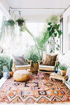 35 Beachy & Boho Patio Ideas To Try This Summer - My Style Inspo Patio Design, Home Design, Design Ideas, Design Design, Interior Design, Modern Design, Ibiza Style Interior, Ibiza Stil, Bohemian Patio