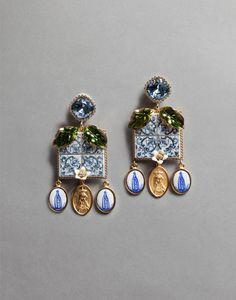 Dolce&Gabbana | WEH6M4W0001 | Earrings | Jewelry & Bijoux