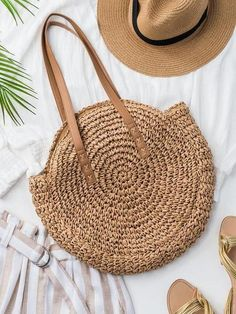 Raffia Straw Round Woven Beach Bag This is no ordinary beach bag!- Raffia Straw Round Woven Beach Bag This is no ordinary beach bag! Beautifully h… Raffia Straw Round Woven Beach Bag This is no ordinary… - Baby Pullover, Round Bag, Leather Pattern, Summer Bags, Handmade Bags, Handmade Handbags, Straw Bag, Leather Bag, Hand Weaving
