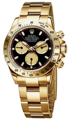Gold Daytona Black face