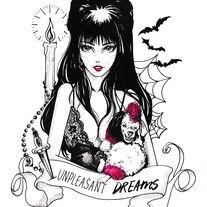 Elvira Mistress of the Dark Fine Art Giclée Print of one of my inktobers from October 2016  Limited Edition Prints Archival inks printed on 260gsm premium Luster Paper Hand signed and numbered by artist illustration art tattoo design quote horror Halloween