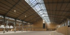 Image 9 of 20 from gallery of The Carreau du Temple / studioMilou architecture. Photograph by Fernando Javier Urquijo Atelier Architecture, Types Of Architecture, Beautiful Architecture, Temple Pictures, Archaeological Discoveries, Architecture Wallpaper, Glass Facades, Sky Photos, Wallpaper Magazine