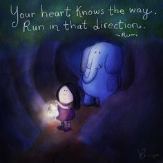 [today's doodle] follow your heart