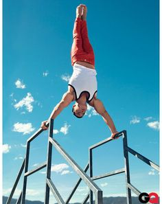 American Gymnasts Model Tank Tops for GQ - July 2012: Wear It Now: GQ#slide=7#slide=2#slide=3