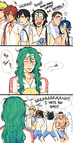 Makishima, Toudou and the Hakone team - YowaPeda