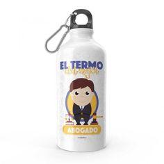 Termo - El termo del mejor abogado, encuentra este producto en nuestra tienda online y personalízalo con un nombre. Snoopy, Fictional Characters, Lawyers, Carton Box, Upcycling, Store, Crates, Fantasy Characters