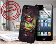 #superman #man #of #steel #logo #art #case #samsung #iphone #cover #accessories