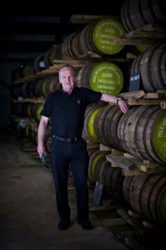 Gordon Bloy, Senior Stillman, Arran Distillery.