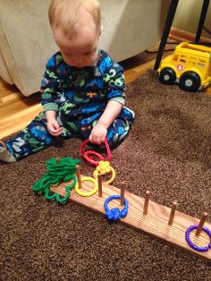 Life on the Trail: Activities for 12-13 month old