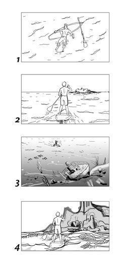 Music Video Storyboards By Storyboard Artist Cuong Huynh. | Cuong