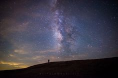 lone walker under the Milky Way from 24 Of The Most Awe-Inspiring Astrophotos Of 2014