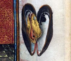 mussel Hours of Catherine of Cleves, Netherlands ca. 1440. NY, Morgan Library and Museum, MS M.945, p. 244