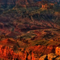 Grand Canyon Sunset Spires (by JamesWatkins)