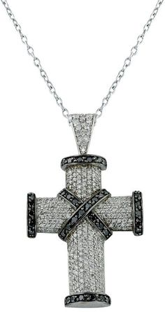 207 Best Black Diamond Cross Necklace Images Diamond Cross Necklaces Black Cross Necklace Stainless Steel Cross Pendant