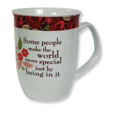 "CLASSIC COLLECTION MUG - SOMEONE SPECIAL ""Some people make the world more special just by being in it."""