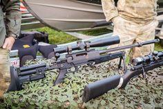 Explorateur.ch/photographie  Présentation de l'équipement de l'UAT, unité d'appui tactique de la gendarmerie vaudoise. Ici fusil de précision PGM Ultima Ratio (Mini Hecate).