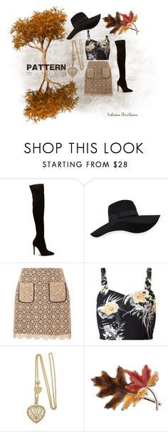 """""""Printed Fall 🍂 Pattern Mixing Contest"""" by darlinghawthorn on Polyvore featuring San Diego Hat Co., Dorothy Perkins, Miss Selfridge, Anne Klein, autumn, mori and earthy"""
