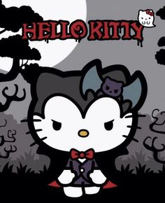 Halloween, hello kitty, and sanrio 圖片 Sanrio Hello Kitty, Hello Kitty Cartoon, Hello Kitty Art, Hello Kitty My Melody, Hello Kitty Pictures, Hello Kitty Items, Here Kitty Kitty, Hello Kitty Halloween, Imprimibles Halloween