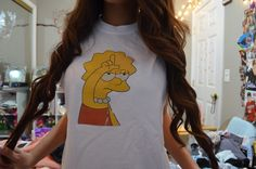 lisa simpson. ♡ love it.