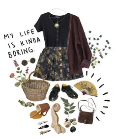 One day you'll understand by purpleghost on Polyvore featuring polyvore, fashion, style, Dr. Martens, Garden Trading, ...Lost and clothing