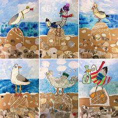 151 Likes, 35 Kommentare – Anya Verevkina⚓ (@ am Inst … – P … - kunst grundschule Summer Art Projects, School Art Projects, Kindergarten Art, Preschool Art, Kids Art Class, Art For Kids, Art 2nd Grade, Classe D'art, Tracing Art