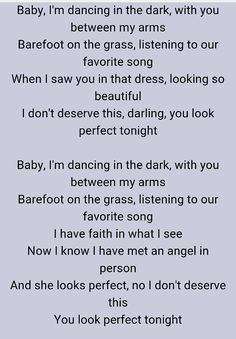 """Perfect"" ed sheeran"