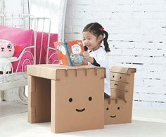 How to Recycle - Kids Furniture Ideas