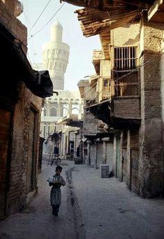 حي من احياء بغداد القديمة  الدهانه