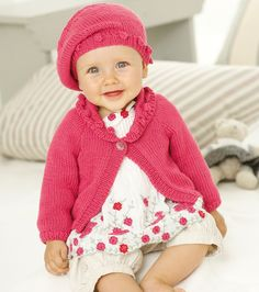 Sirdar Knitted Baby Beret Pattern - Free Craft Project – Stitching - Crafts Beautiful Magazine