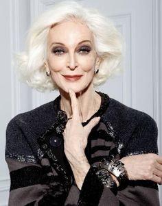 Supermodel Carmen dell'Orefice 81 years-old eternal beauty. august ...