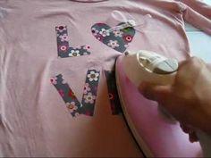 Design usando papel termocolante by Customização & Cia
