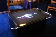 Microsoft Surface Coffee Table-like you can say no Kev :) open source here we come!!