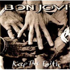 Keep the faith - Bon Jovi Jon Bon Jovi, Rockmuziek, Biddende Handen Tattoo, Het Geloof Behouden, Zangers, Tatoeage, Mooie Dingen, Liedjesteksten Citaten, Boekomslagen