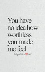 And how I blamed myself for the choice you made. NOT ANYMORE!!!!