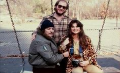 Great Pic of Director William Lustig, Joe Spinell, Caroline Munro