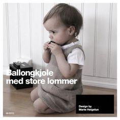 Ravelry: Ballongkjole med store lommer - Yulip dress with big pockets pattern by Marte Helgetun Tulip Dress, Knitting For Kids, Knitting Ideas, Pocket Pattern, Knitting Designs, Ravelry, Children, Crochet, Pockets