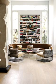 Great Library Room-Awesome Modern Chairs