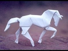 Origami horse - YouTube