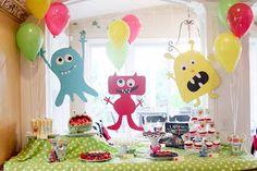Viele Ideen für eine Monster Party