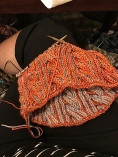Ravelry: Project Gallery for F729 Brioche Cable Cowl pattern by Vanessa Ewing
