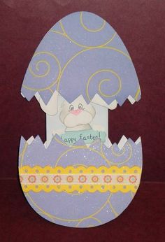 Easter Slider Card by joy4utoo - Cards and Paper Crafts at Splitcoaststampers