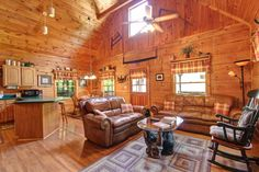 Welcome to Country Charm! This real log cabin is fantastic part of Gatlinburg's cabin culture, and is a perfect place to stay for any vacation.