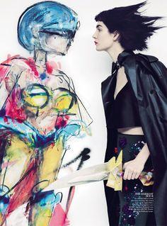 Vogue Australia March 2014   Janice Alida by Emma Summerton  [