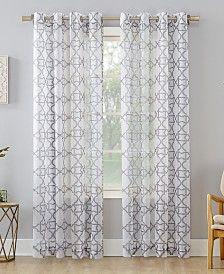 Lush Decor Rosalie Lace Trim 95 X54 Window Panel Set Reviews
